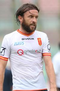 Riccardo Bolzan con la maglia del Messina. Sarà lui a rimpiazzare Bocchetti, in uscita dalla Paganese