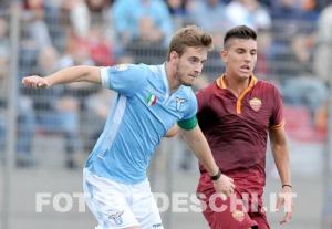 """Dopo avere conquistato lo Scudetto """"Primavera"""" nel 2013, il laziale Riccardo Serpieri ha subito un grave infortunio nel derby del giugno scorso con la Roma"""