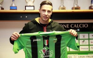 Sasa Bjelanovic con la maglia del Pordenone