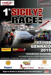 Locandina Sicily Expo Race 2015