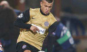 Srdjan Spiridonovic in occasione della sua fugace apparizione in Champions League