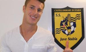 Gianmarco Fiory della Juve Stabia, altro potenziale sostituto di Lagomarsini