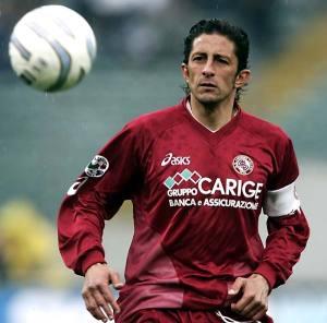 L'ex attaccante con la maglia della Lazio