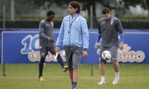 """Simone Inzaghi allena la Lazio """"Primavera"""" da un anno. Ha vinto Coppa Italia (con il neo-giallorosso Riccardo Serpieri in campo) e Supercoppa"""