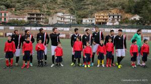 Il Due Torri con giovani calciatori