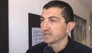 L'ex giallorosso Antonio Obbedio