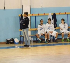 Il coach dell'Fp Sport Messina Francesco Paladina