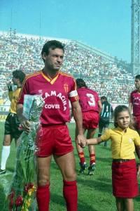 Totò Schillaci, a segno contro l'Akragas nel 1985