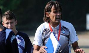 """Simone Inzaghi ha ereditato la panchina della """"Primavera"""" biancoceleste da Alberto Bollini, che vinse lo Scudetto 2013 con Serpieri in campo"""