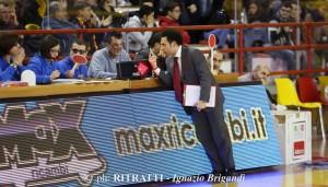 L'assistan coach di Barcellona Francesco Trimboli (foto Brigandì)