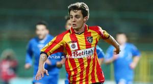Gustavo in azione con la maglia del Lecce