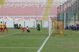 Il gol di Orlando al Lecce