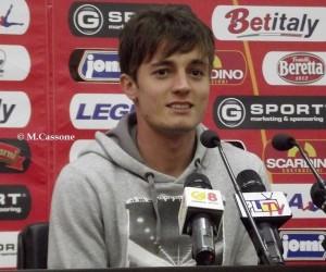 Il brasiliano Gustavo Di Mauro Vagenin in conferenza stampa