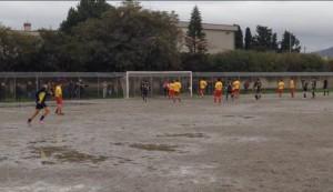 Il gol decisivo messo a segno da Pandolfino