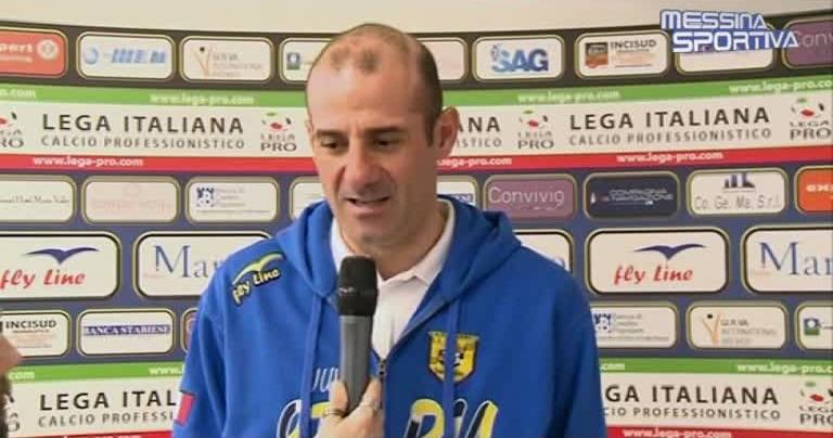 Il tecnico della Juve Stabia Giuseppe Pancaro
