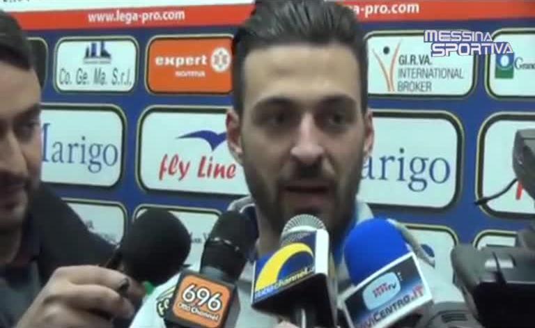 L'attaccante della Juve Stabia Samuel Di Carmine