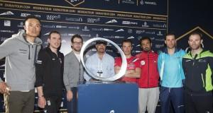 Nibali alla presentazione del Dubai Tour