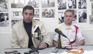 """Pagni ed il talento austriaco in conferenza stampa al """"Celeste"""""""