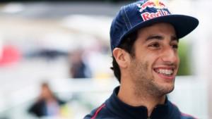 Il pilota di Formula 1, Daniel Ricciardo