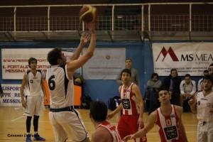 Basket School - Virtus Canicattì, Ioppolo al tiro