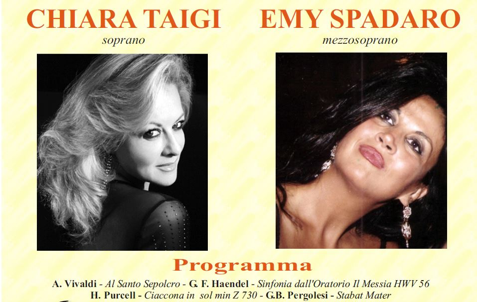 Chiara Taigi e Emy Spadaro