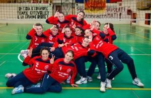 Le ragazze dell'Effe Volley Santa Teresa