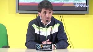 Gianluca Grassadonia in sala stampa
