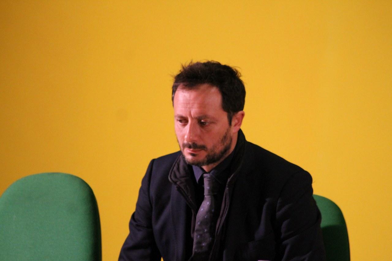 Un primo piano di Fabrizio Ferrigno (foto Paolo Furrer)