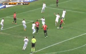 Sarno firma la rete del raddoppio: nove i centri in stagione per l'attaccante del Foggia