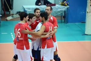 I giocatori della Pallavolo Messina 2014-15