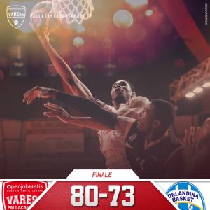 80-73 per Varese sull'Orlandina