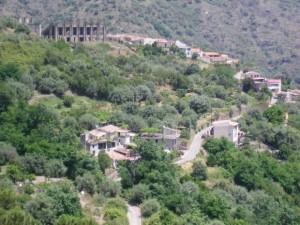 L'area dove sorgerà il Palsport di Savoca