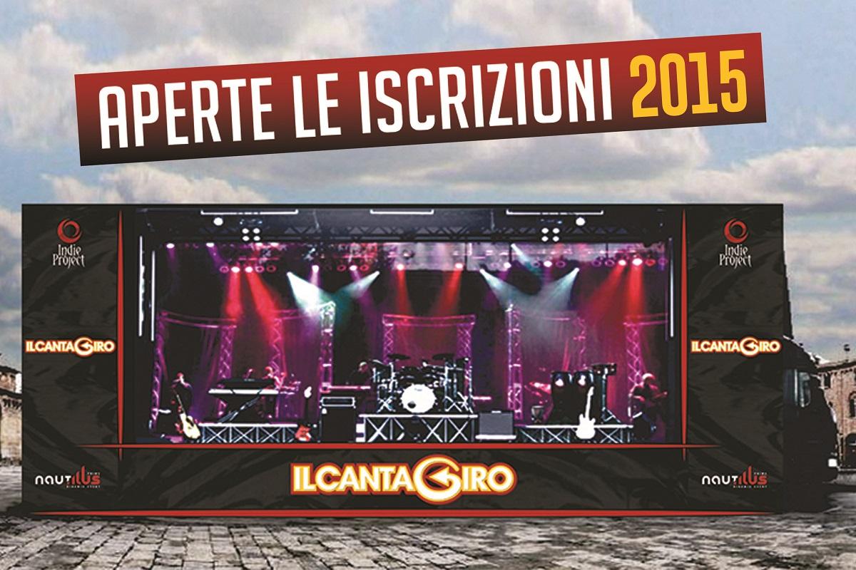 La locandina Cantagiro 2015