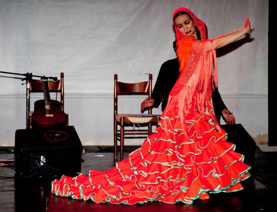 Un passo del flamenco
