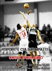 Serie C Nazionale derby Patti - Costa d'Orlando