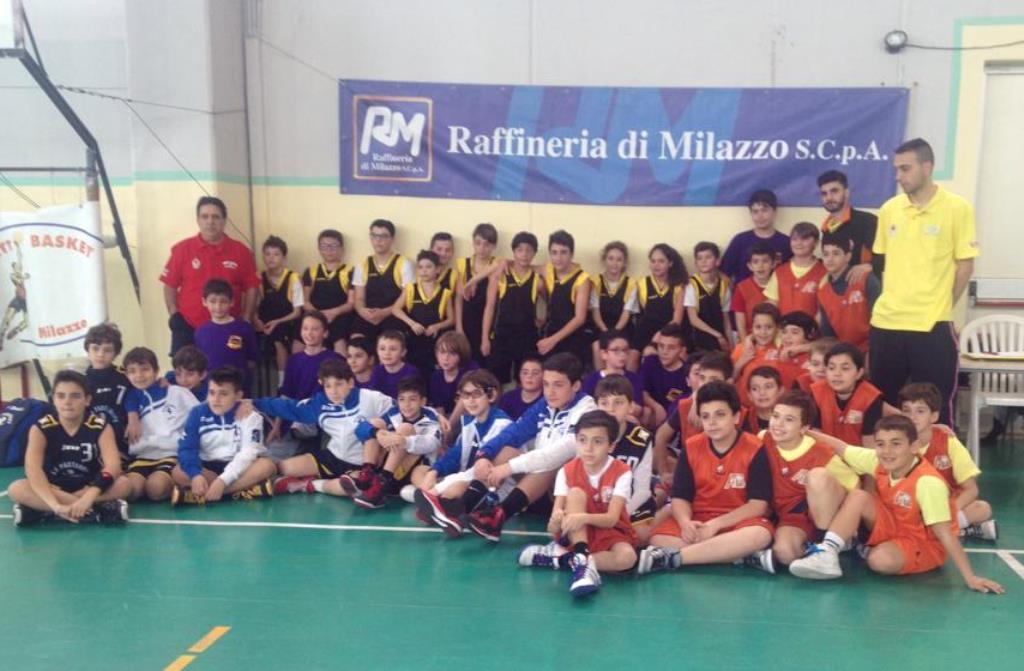 Minibasket Torneo dell'Amicizia di Milazzo