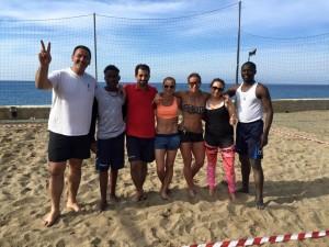 Rappresentativa Beach Volley alla multiconvention 2015
