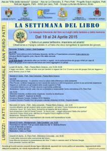 Il programma della Settimana del Libro