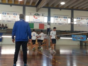 I giocatori del Volley Brolo