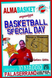 Locandina Basketball Special Day Camp