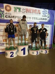 Podio Campionato Italiano Nogi