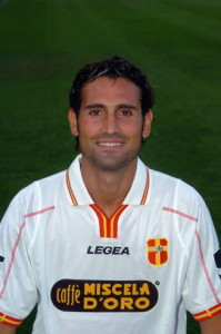 L'attaccante con la maglia del Messina