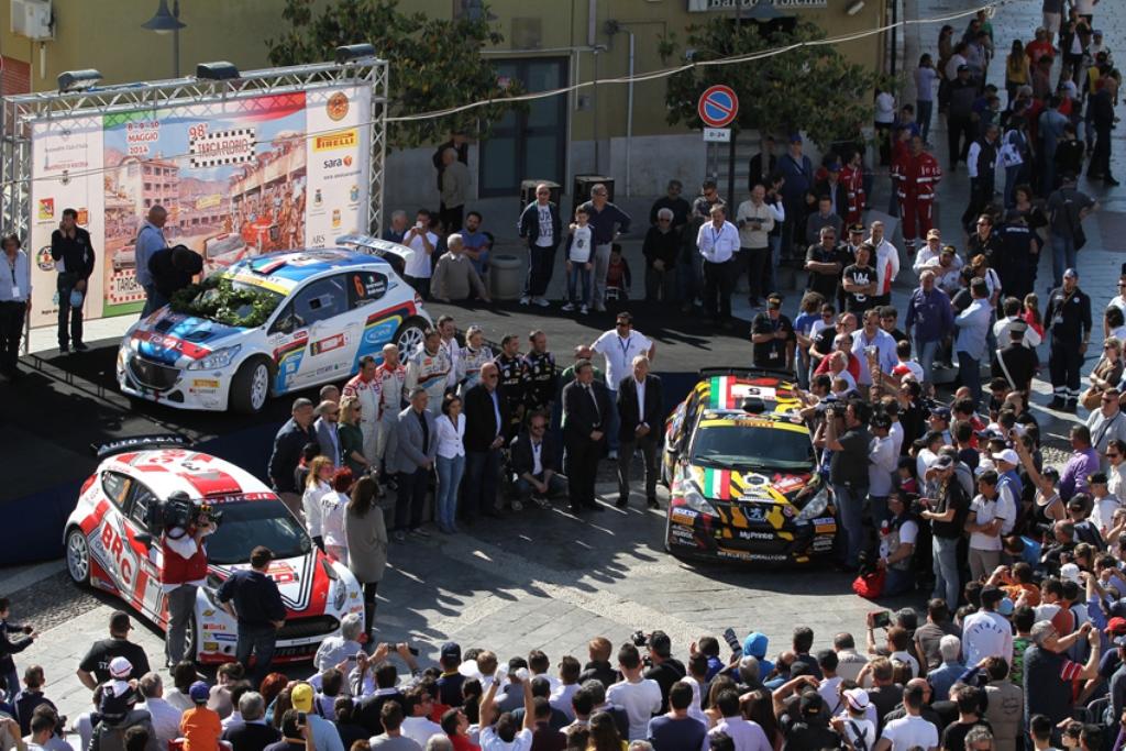 L'Arrivo della Targa Florio edizione n. 98