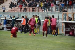 Il derby d'andata vinto dalla Reggina