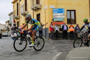 Gabriele Russo della Fausto Coppi di Calatabiano, vince la prima edizione del Gran Fondo Nibali