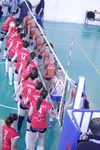Effe Volley-Noma S. Stefano, i convenevoli prima della gara