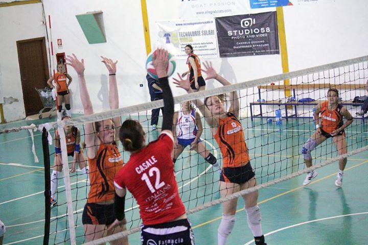 Effe Volley-Noma S. Stefano 3-1 Casale in attacco