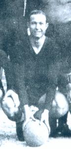 Giuseppe Gerbi, punto di forza dell'attacco dell'AC Messina nel campionato 1936-37