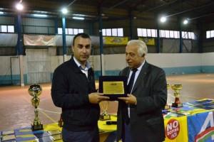 Lillo Margareci premia Alessandro Cacciotto