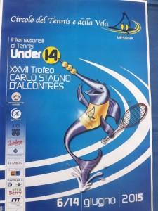 La locandina del Trofeo Carlo Stagno d'Alcontres